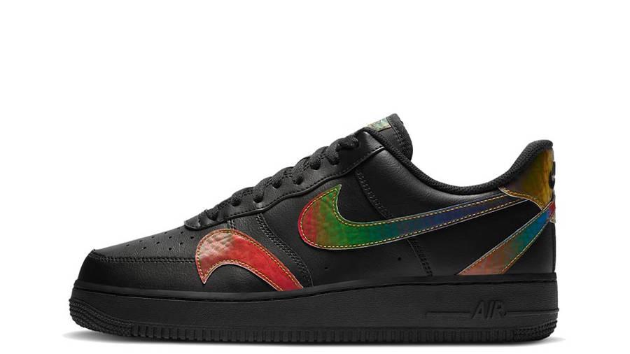 Nike Air Force 1 Misplaced Swoosh Black