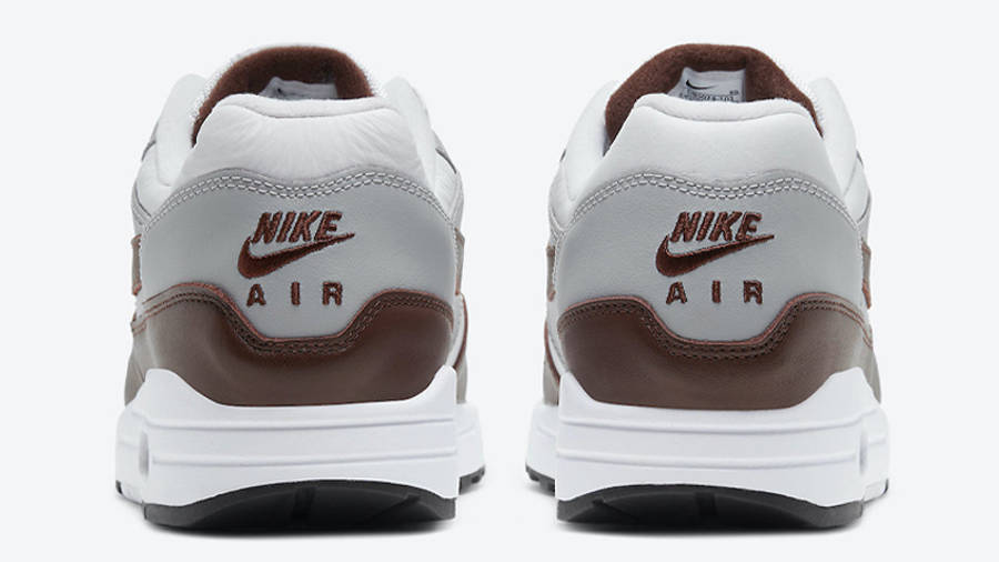 Nike Air Max 1 Brown Leather Back