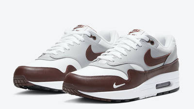 Nike Air Max 1 Brown Leather Front