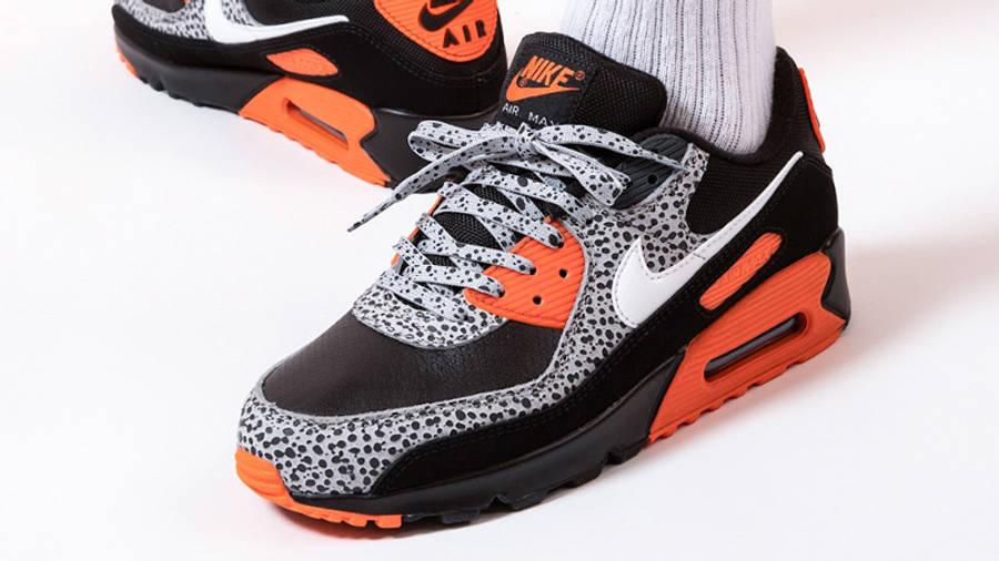 Nike Air Max 90 Safari Black Orange   Where To Buy   DA5427-001 ...