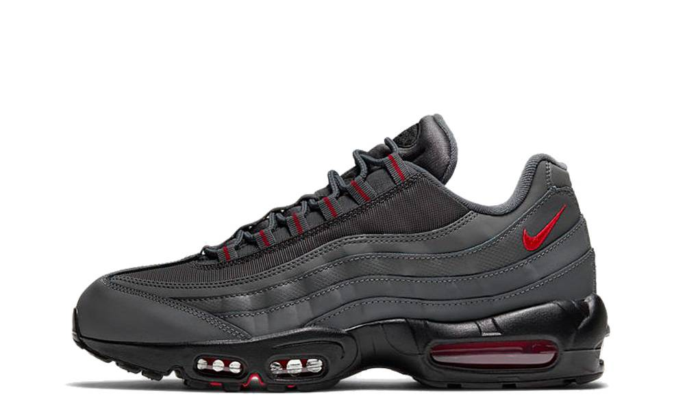 Nike Air Max 95 Grey Red   Where To Buy