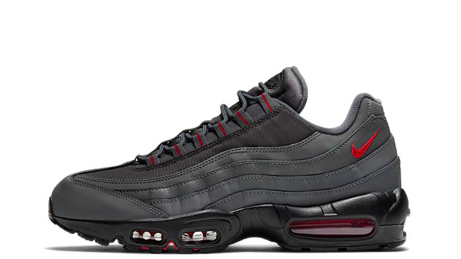 Nike Air Max 95 Grey Red | Where To Buy