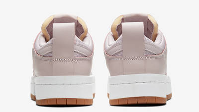 Nike Dunk Low Disrupt Dusty Pink Back