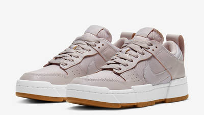 Nike Dunk Low Disrupt Dusty Pink Front