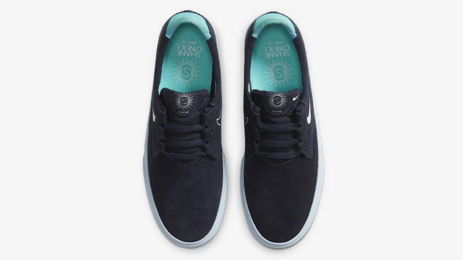 Nike SB Shane T Blue Flame Pack Dark Obsidian Middle