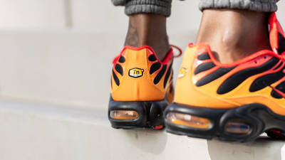 Nike TN Air Max Plus Lava On Foot Back