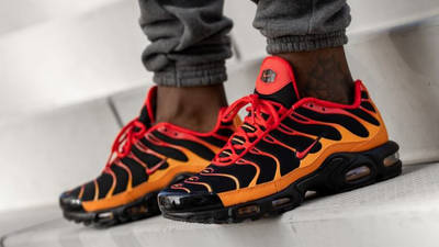 Nike TN Air Max Plus Lava On Foot