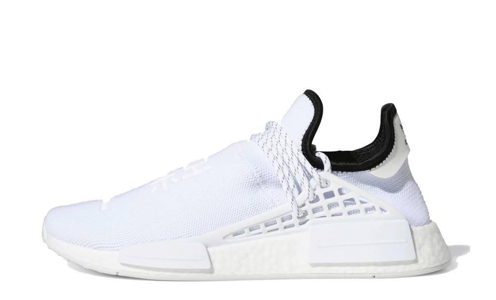 Pharrell x adidas NMD Hu White   Where