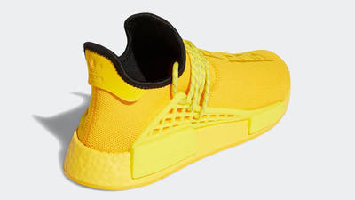 Pharrell x adidas NMD Hu Yellow Back