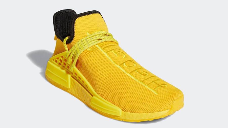 Pharrell x adidas NMD Hu Yellow Front
