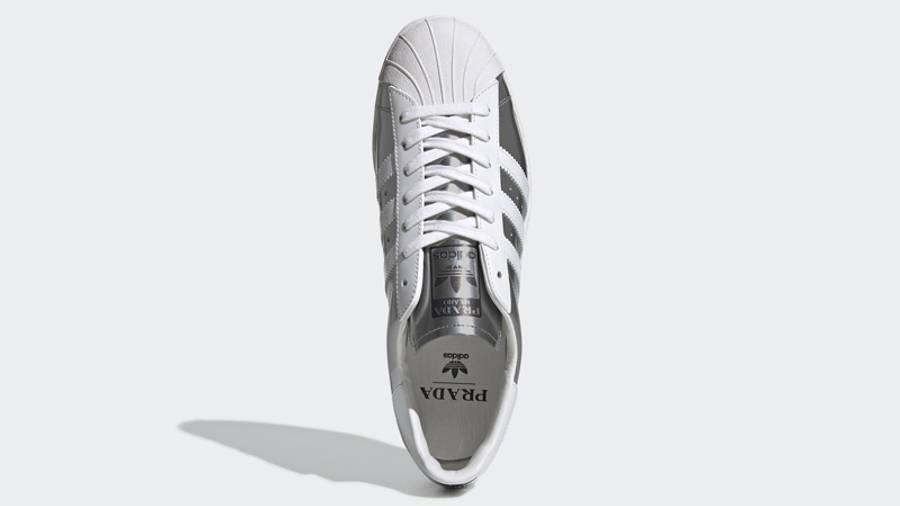Prada x adidas Superstar Silver Metallic | Where To Buy | FX4546 ...