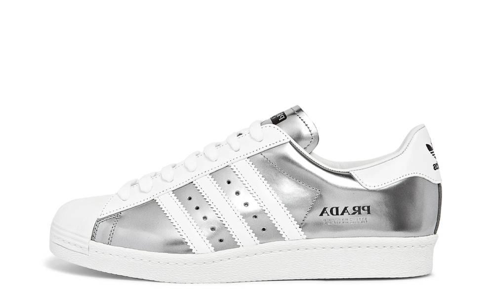 Ejecutante Ajuste orar  Prada x adidas Superstar Silver Metallic | Where To Buy | FX4546 | The Sole  Supplier
