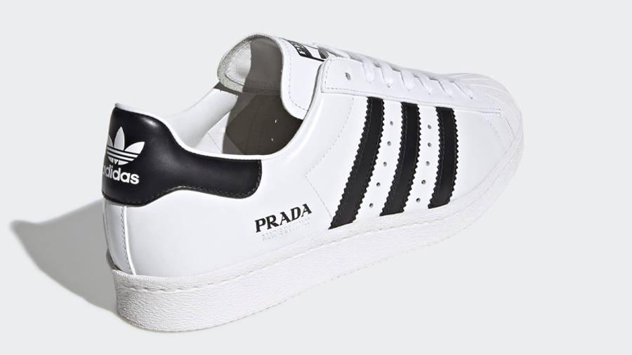 Prada x adidas Superstar White Black | Where To Buy | FW6680 | The ...