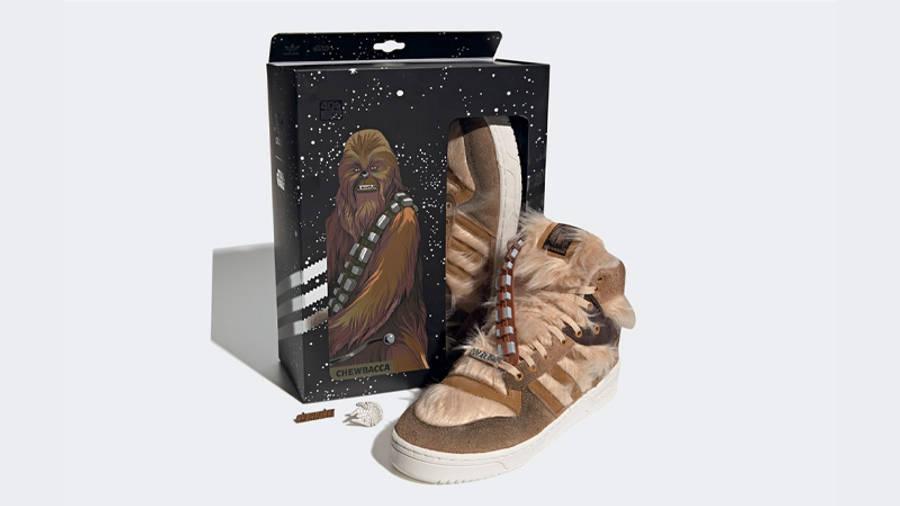 Star Wars x adidas Rivalry Hi Chewbacca Pack