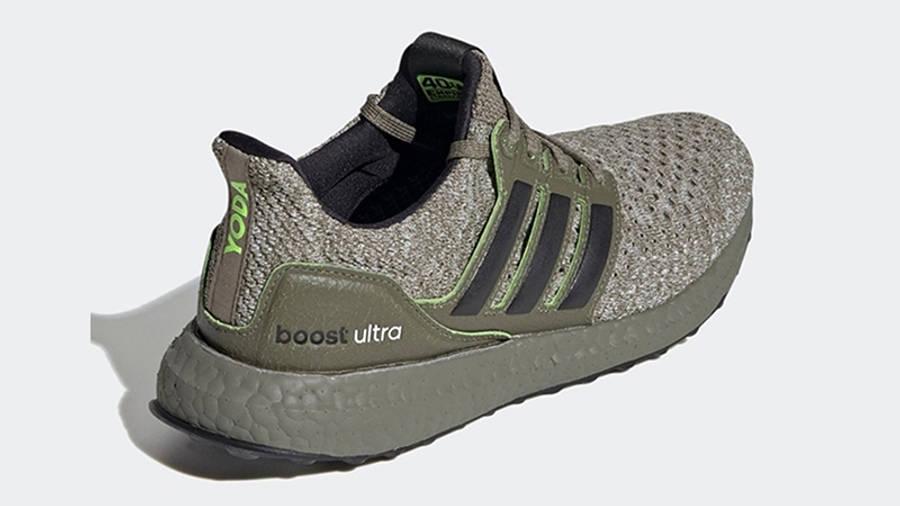 Star Wars x adidas Ultra Boost DNA Yoda FY3496 back