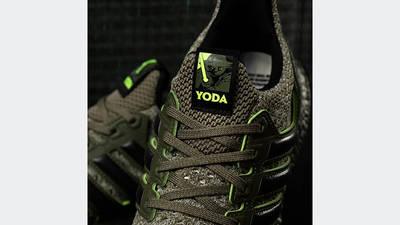 Star Wars x adidas Ultra Boost DNA Yoda FY3496 lifestyle closeup