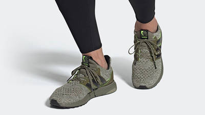 Star Wars x adidas Ultra Boost DNA Yoda FY3496 on foot