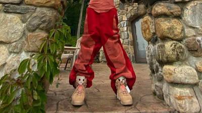 Travis Scott x Jordan 6 British Khaki On Foot Front