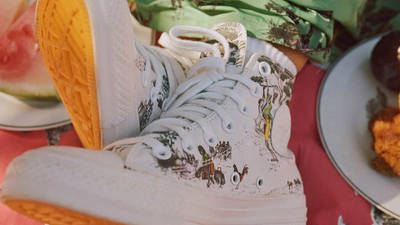Union x Converse Chuck Taylor All Star Hi On Foot Front