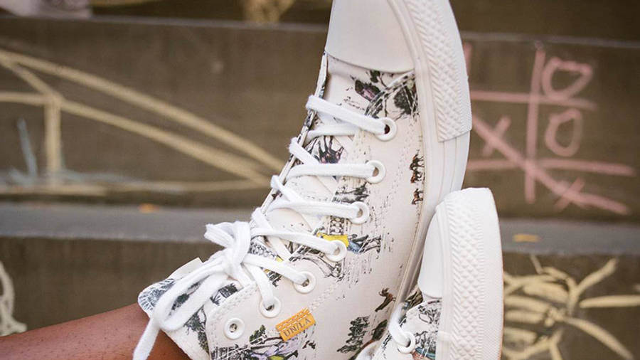 Union x Converse Chuck Taylor All Star Hi On Foot Side