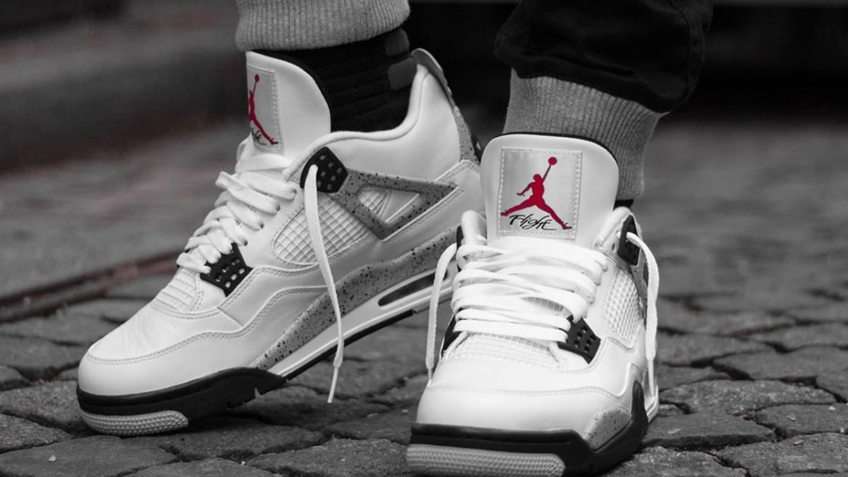 Air Jordan 4 Golf 'White Cement'