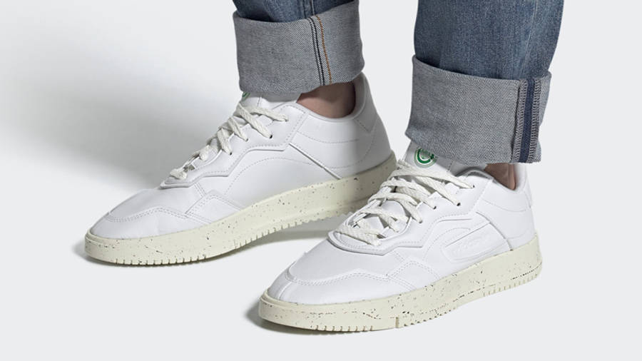 adidas SC Premiere Clean Classics Cloud White On Foot