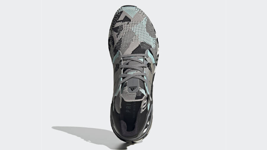 adidas Ultra Boost 20 Camo Black Frost Mint   Where To Buy ...