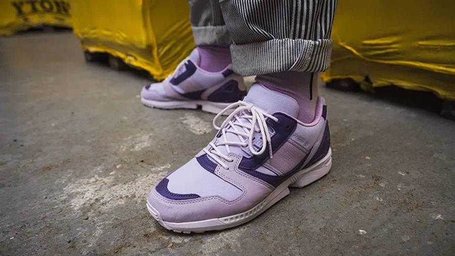 deadHYPE x adidas ZX 8000 Thanos FX8528 on foot side