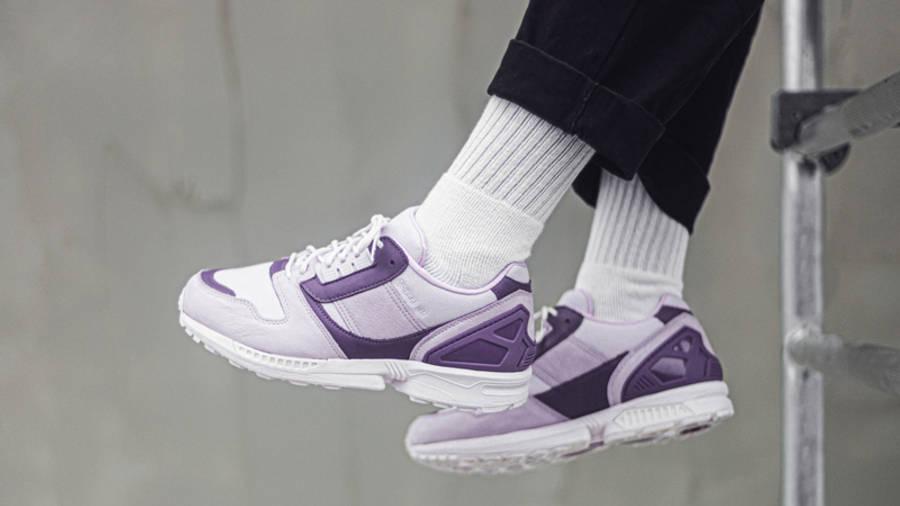 deadHYPE x adidas ZX 8000 Thanos On Foot