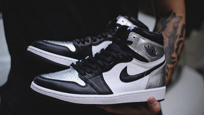 Jordan 1 High OG Metallic Silver front