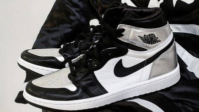 Jordan 1 High OG Metallic Silver side