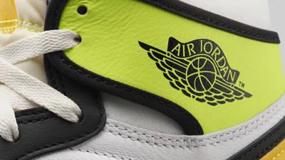 Jordan 1 High Volt Gold Front Closeup