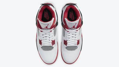 Jordan 4 Fire Red Middle