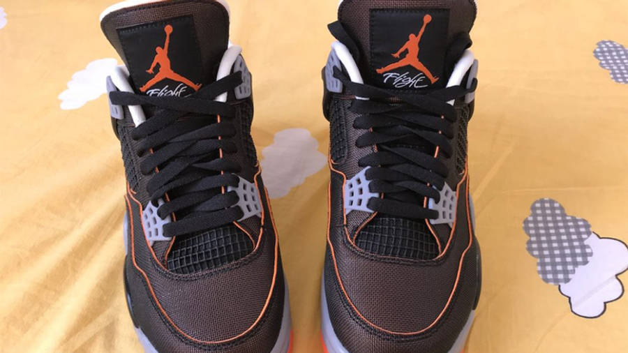 Jordan 4 Starfish First Look Front