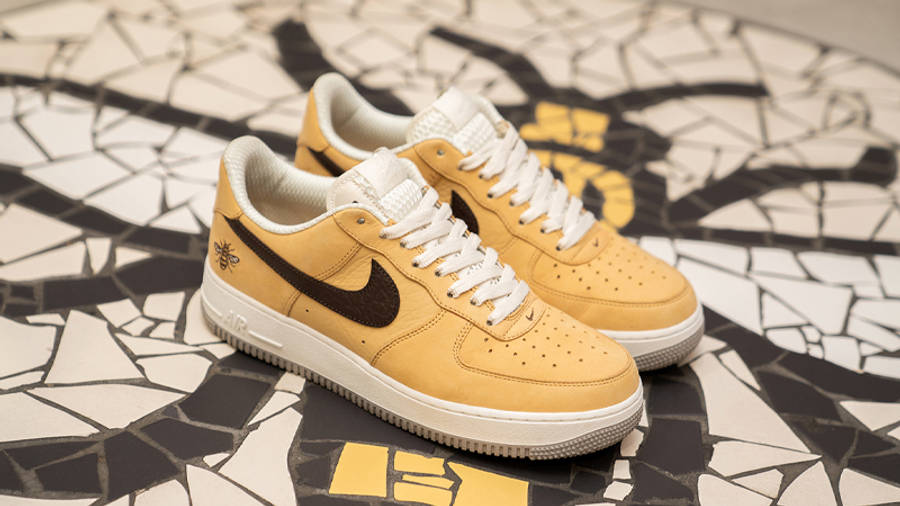 Nike Air Force 1 Manchester Bee First Look