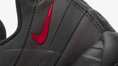 Nike Air Max 95 Black University Red Closeup