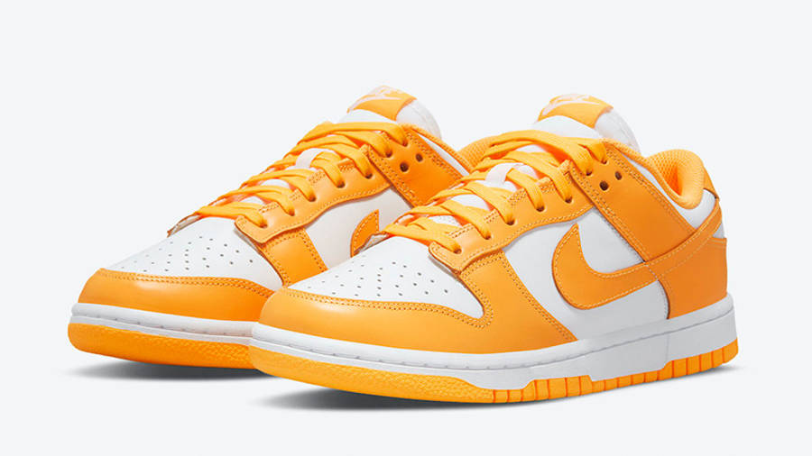 Nike Dunk Low Laser Orange DD1503-800 front