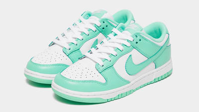 Nike Dunk Low Pastel Green Glow Front