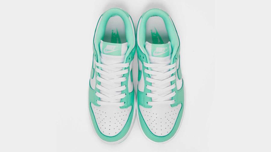 Nike Dunk Low Pastel Green Glow Middle