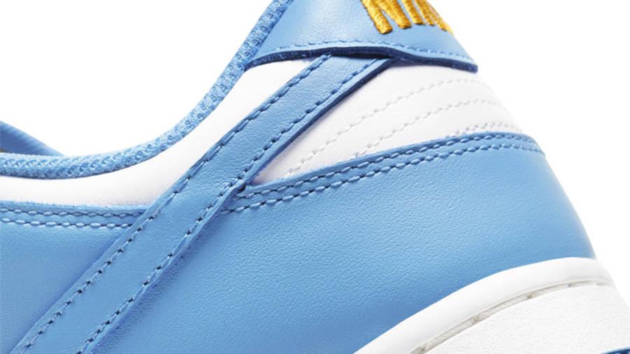 Nike Dunk Low Sail Coast Closeup