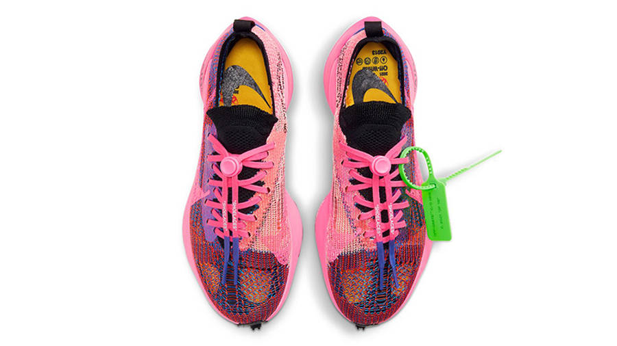 Off-White x Nike Air Zoom Tempo Next% Pink Glow Top