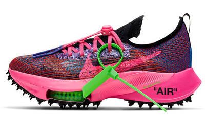 Off-White x Nike Air Zoom Tempo Next% Pink Glow