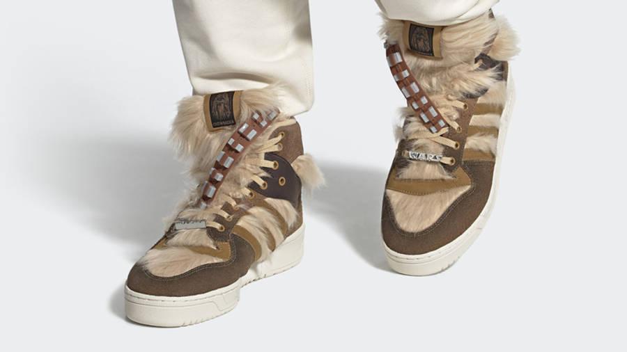 Star Wars x adidas Rivalry Hi Chewbacca On Foot
