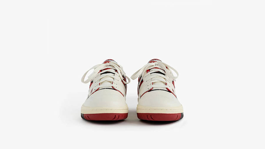 Aime Leon Dore x New Balance 550 White Red BB550AE1 front