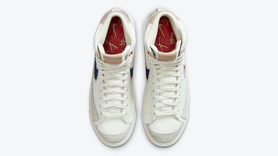 Denham Nike Blazer White CU8054-100 middle