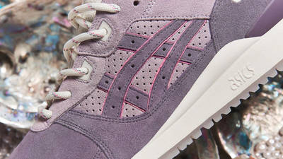END x ASICS GEL-Lyte III Pearl Closeup
