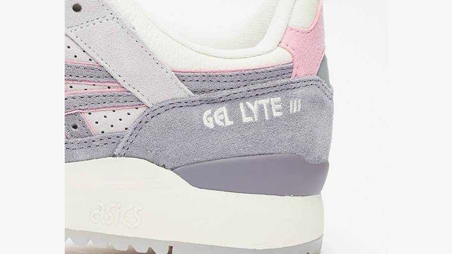 END x ASICS GEL-Lyte III Purple Grey Closeup