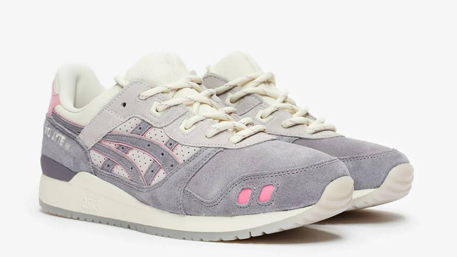 END x ASICS GEL-Lyte III Purple Grey Front
