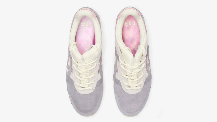 END x ASICS GEL-Lyte III Purple Grey Middle