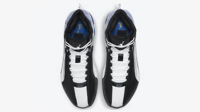 Fragment x Jordan 35 Black White Blue Middle